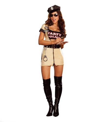 Hilka Cesar 5981M - Disfraz de mujer policía (talla 38-40)