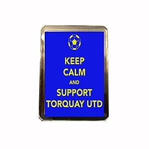 Torquay United F.C - Keep Calm Fridge Magnet