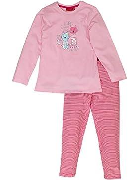 SALT AND PEPPER Mädchen Zweiteiliger Schlafanzug Pyjama Katze