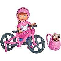 Simba 105733273 – Evi Love Ferienspaß Fahrrad