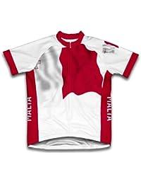 Malta Bandera Maillot de Ciclismo Manga Corta para Hombre - Talla 4XL 10f155179d5