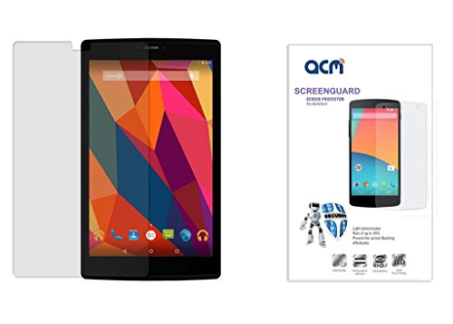 Acm Clear Screenguard For Micromax Canvas Tab P680 Tablet Screen Guard Scratch Protector  available at amazon for Rs.199