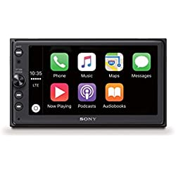Sony XAV-AX10016,3cm (6,4'') Récepteur multimédia (avec Bluetooth, Apple CarPlay et Android Auto, GPS, Spotify, autoradio 2DIN)