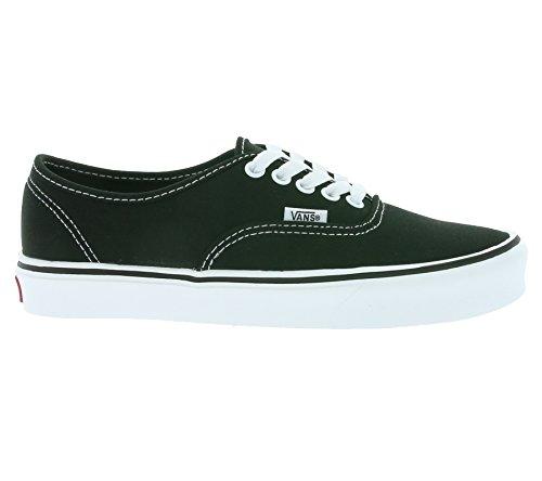 Vans Unisex-Erwachsene Authentic Lite Plus Sneaker Schwarz (canvas/black/white)