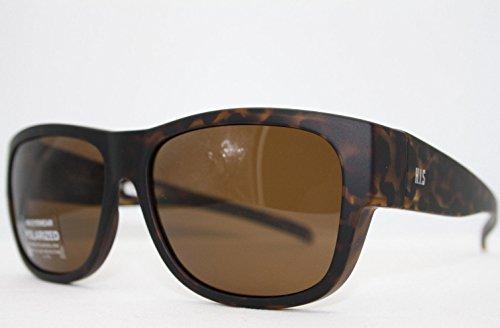 HIS HP 79100-2 Sonnenbrille Überziehbrillen mit Polaroidgläser