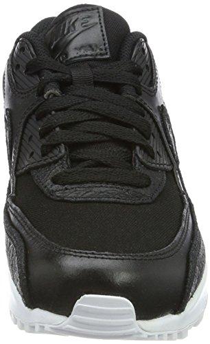 Nike Air Max 90 Premium, Baskets Homme, Gris Noir (Black-white)