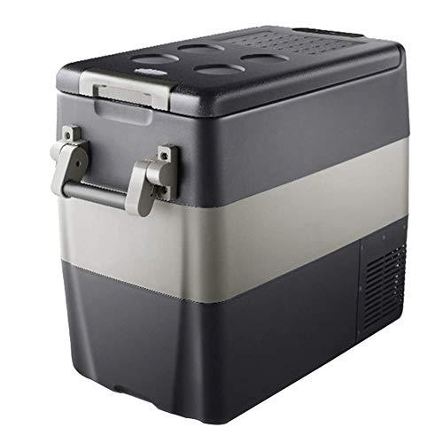 YXYNB Autokühlschrank, gekühlt Autokühlschrank 30L / 40L / 50L, gekühlter Kompressor mit großer Kapazität, gekühlter Kühlschrank für das Auto zu Hause, 12 V / 24 V, tragbarer LKW, Mini-Gefri
