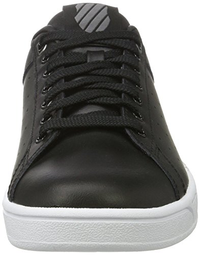 K-Swiss Clean Court Cmf, Sneakers Basses Femme Noir (Black/white)