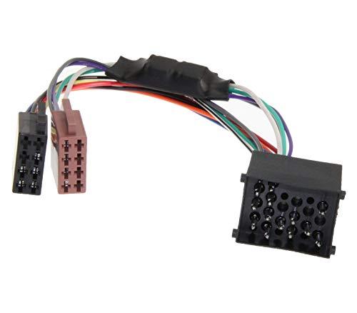 KFZ DIN ISO Stecker Auto Aktiv System Radio Adapter Kabel für BOSE Harman Kardon