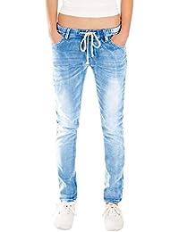 d7fc3586c Amazon.es  Los Pantalones Harem - Vaqueros   Mujer  Ropa