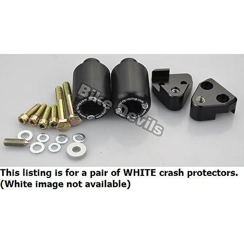 R & G Racing Classic Blanco Crash Protectores Honda CBR 125R 2004–2010–cp0135wh