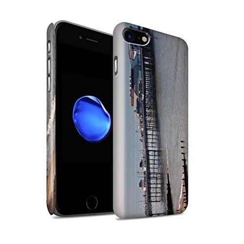STUFF4 Matte Snap-On Hülle / Case für Apple iPhone 8 / Küste Muster / Britischen Küste Kollektion Seebrücke