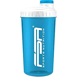 FSA Nutrition - Shaker de 700 ml - sin BPA - Turquesa