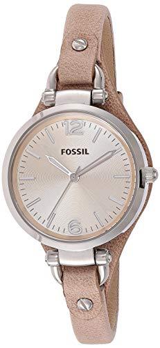 Fossil orologio analogico quarzo donna con cinturino in pelle es2830
