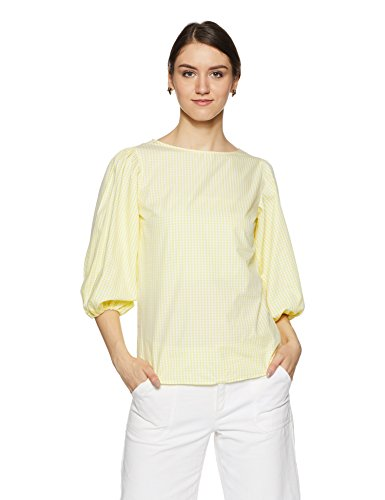 Allen Solly Women's Checkered Regular Fit Shirt