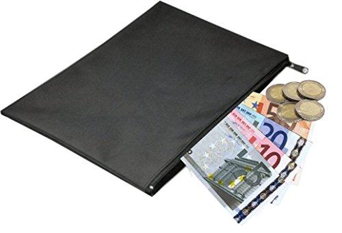 2 Stück Banktasche aus Nylon - Papier-münzen-beutel