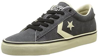 CONVERSE Unisex-Adult Pro Leather Vulc Ox Trainers 364300-52-8 Black/Cream 3.5 UK, 36 EU