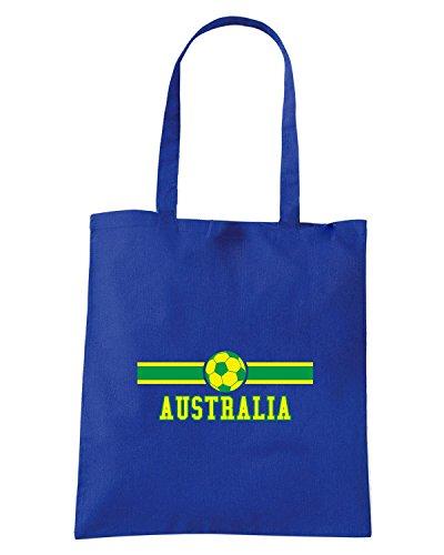 T-Shirtshock - Borsa Shopping T0700 australia calcio ultras Blu Royal