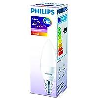 Philips 929001157783 İnce Duylu Led Mum Ampul B35, E14, 40 W, 1 Parça