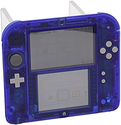 Nintendo 2DS - Consola, Color Transparente Azul