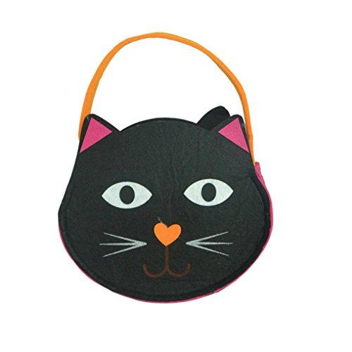 Goodsatar Halloween Süßigkeitsbeutel Süßigkeiten Taschen Geschenktasche Birkin Paket Für Kinder (E)