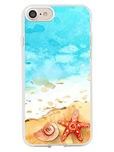 iPhone 8/ iPhone 7 Case Printed Designer Cover - Beach Life - Artistic - 2D Glossy Premium Soft TPU Case