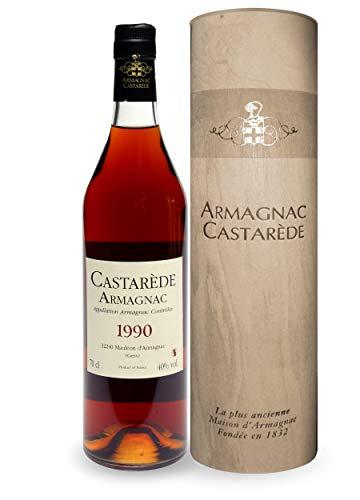 CASTARÈDE ARMAGNAC MILLÉSIMÉ 1990 70 cl