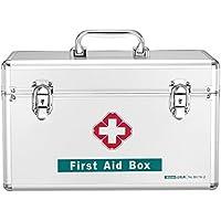 Medizinschränke Medizin-Box Haushalt Notfall Aluminium-Legierung Medizin Brust Multilayer Doppel-Verschluss Erste-Hilfe-Kit... preisvergleich bei billige-tabletten.eu