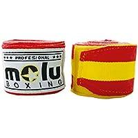 MoluBoxing - Venda semielástica 5 Metros, Color: Bandera España