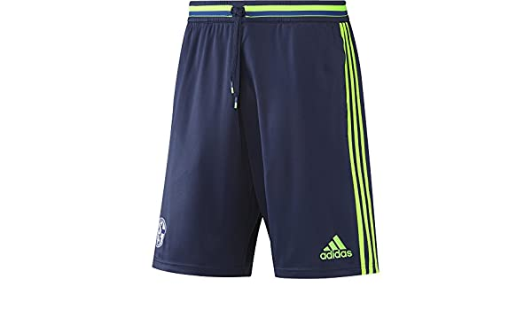adidas Herren FC Schalke 04 Training Short Trainingsshort