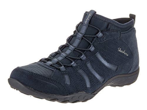 Skechers Breathe-easy - Establishe, Mary Jane femme Bleu Marine