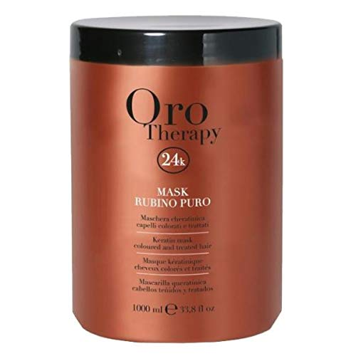 Masque cheveux colorés Rubino Oro Therapy 1000ml