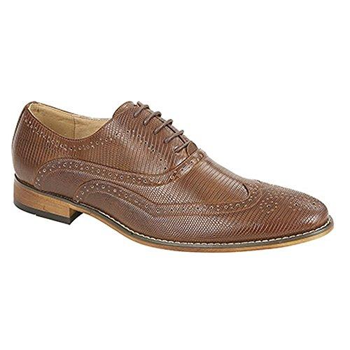 Goor - Chaussures de ville en cuir - Homme Fauve