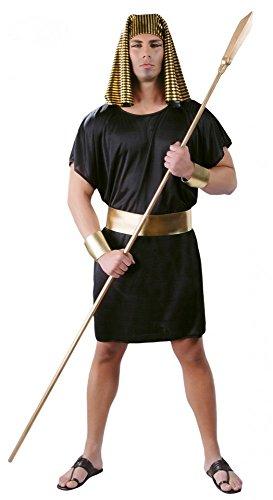 Herren Ägyptische Kostüm - shoperama Herren Kostüm Ägyptischer Pharao 4-Teilig Gr. L König Herrscher Ägypter Verkleidung