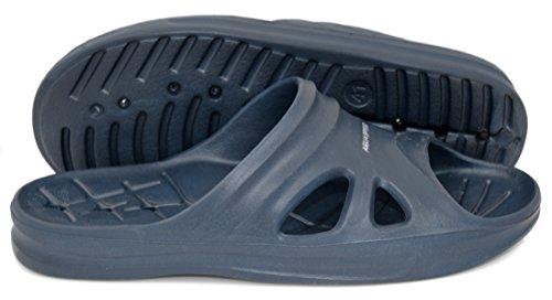 Aqua-Speed , Chaussures spécial piscine et plage pour homme Navyblau