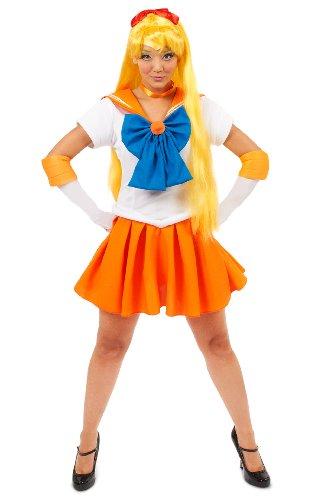 on Sailor Venus Kost-m Medium (Sailor Moon Kostüm Make Up)