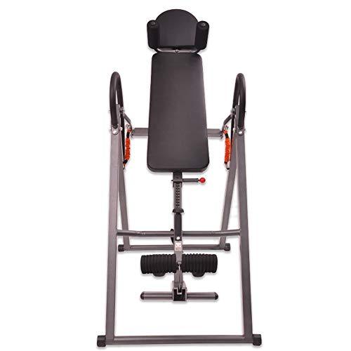 Chyuanhua Umgekehrte Maschine Falzmaschine zur Erhöhung der Fitnessgeräte Fitnessstudio umgekehrte Maschine (Farbe : Schwarz, Größe : 70 * 116 * 155cm)