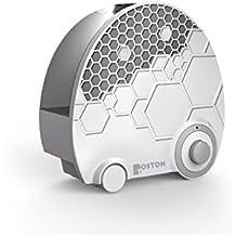 Boston Technology WE-109 - Humidificador Ultrasonico, vapor frio ajustable, 4 litros, Ultima tecnologia, proteccion de bajo nivel de agua, indicador LED