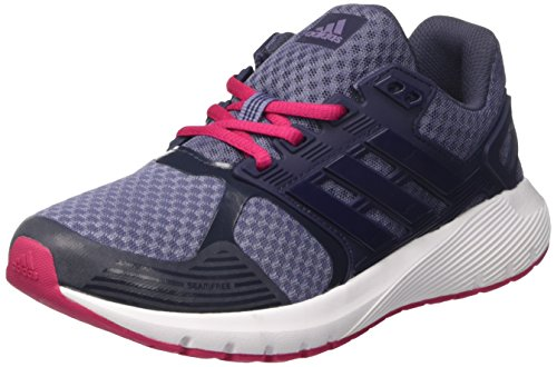 adidas Duramo 8 W, Chaussures de Course Femme Gris (Super Purple/Midnight Grey/Bold Pink)