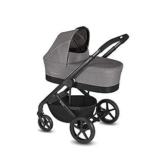 CYBEX Gold Kombikinderwagen Balios S mit Kinderwagenaufsatz Cot S, Ab Geburt bis 17 kg (ca. 4 Jahre), Manhattan Grey (B07FFJSXG2) | Amazon Products