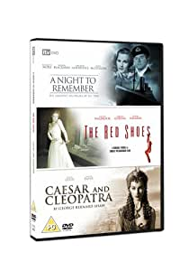A Night To Remember/The Red Shoes/Caesar And Cleopatra [DVD]