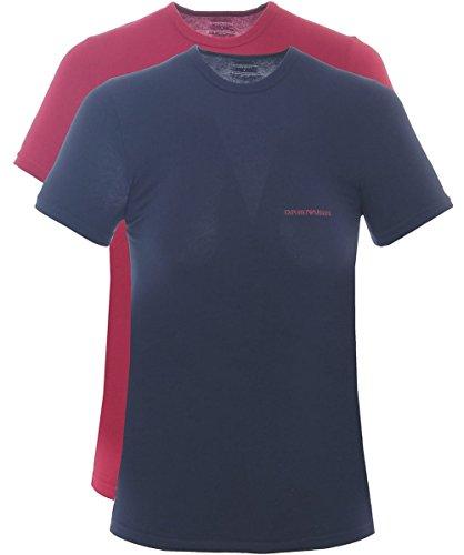 emporio-armani-underwear-t-shirt-pack-x2-111267-6a717-33435-marine-bordeau-taille-xl-couleur-bleu