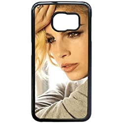 Emma Marrone X9O48H4IO cover Samsung Galaxy S6 Edge Case Black 0AL8U4