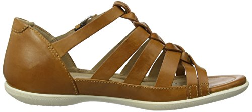 Flash Donna Noce Marrone Sandali Ecco liquirizia z0w6xdAn