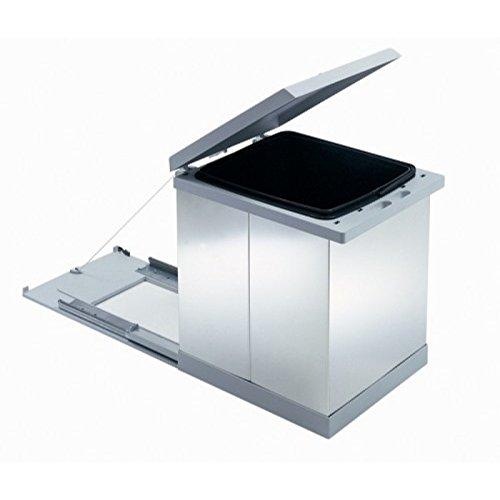 Cubo extraíble primera Mueble bajo fregadero acero