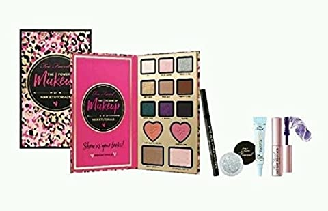 Too Faced The Power of Makeup Eyeshadow Palette by NIKKIETUTORIALS - USA-