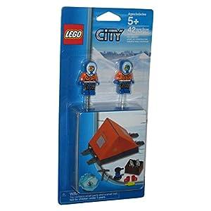 Lego City Arctic Polar Accessory Set with Fabric Tent 850932 by LEGO 0673419217989 LEGO