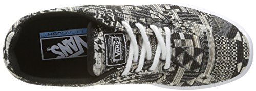 Vans Iso 1.5, Baskets Basses Mixte Adulte Multicolore (Italian Weave black/white)