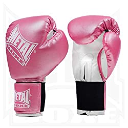 Metal Boxe Boxhandschuhe, Pink (Rose), 8 oz