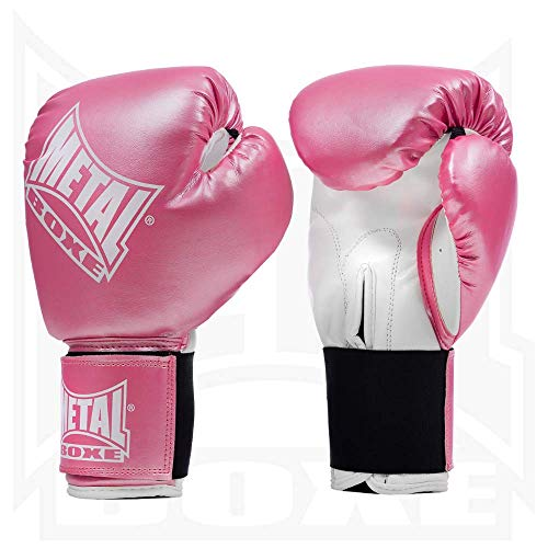 Metal Boxe Boxhandschuhe, Pink (Rose), 10 oz